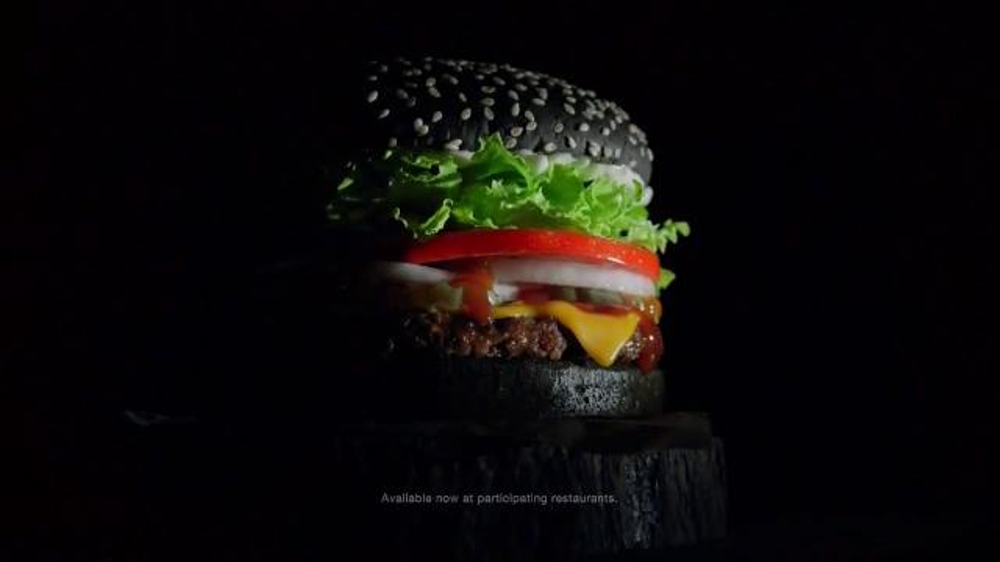 Burger King A1 Halloween Whopper TV Commercial, 'Dripping with A1 ...