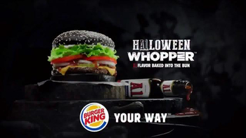 Burger King A1 Halloween Whopper TV Spot, 'Dripping with A1' - Thumbnail 7