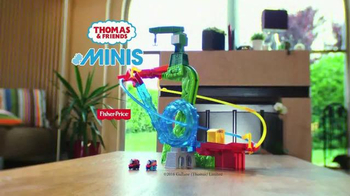 Thomas & Friends MINIS Motorized Raceway TV Spot, 'Through a Loop' - Thumbnail 10