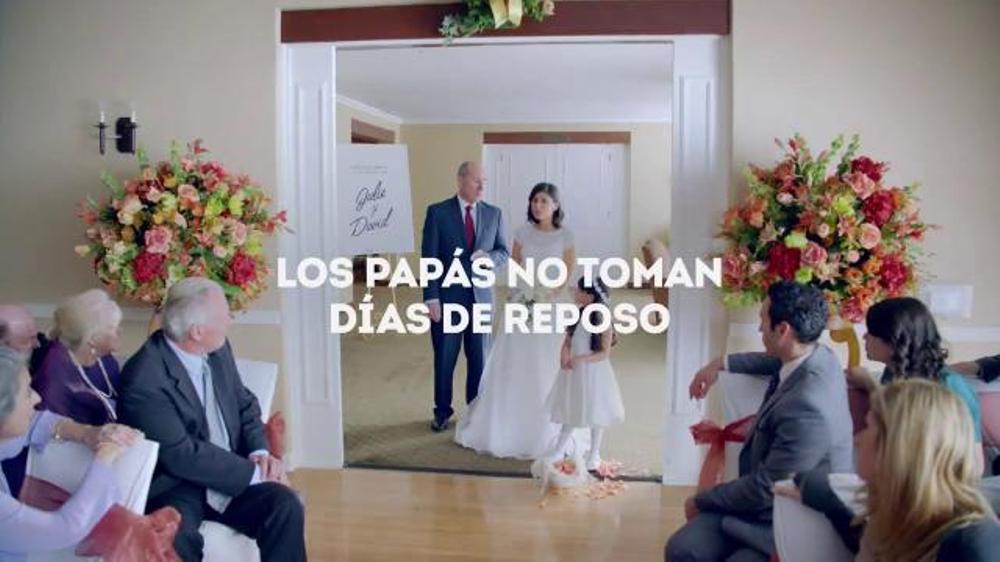 Vicks DayQuil Severe Cold & Flu TV Commercial, 'D??a de la boda'
