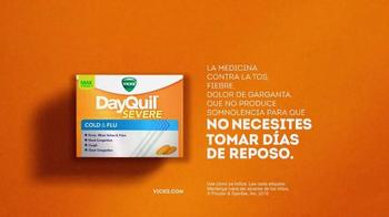 Vicks DayQuil Severe Cold & Flu TV Spot, 'Día de la boda' [Spanish] - Thumbnail 4