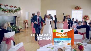 Vicks DayQuil Severe Cold & Flu TV Spot, 'Día de la boda' [Spanish] - Thumbnail 3