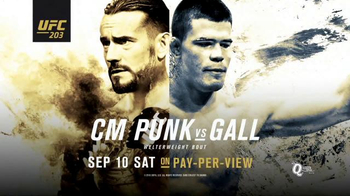 Pay-Per-View TV Spot, 'UFC 203: CM Punk vs. Gall: Can He Fight?' - 2 commercial airings