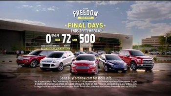 Ford Freedom Sales Event TV Spot, 'Labor Day Cash' Song by Pitbull - Thumbnail 8