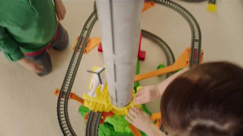 Thomas & Friends TrackMaster Sky-High Bridge Jump TV Spot, 'Airborne'