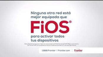 Frontier FiOS Triple Play TV Spot, 'Tarjeta de regalo' [Spanish] - Thumbnail 5