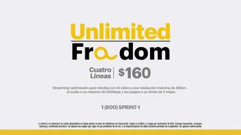 Sprint Unlimited Freedom TV Spot, 'Así es.' [Spanish] - Thumbnail 9