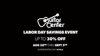 Guitar Center Labor Day Savings Event TV Spot, 'Drum Kits' - Thumbnail 9