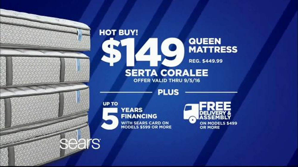 Sears Labor Day Mattress Event Tv Commercial Sleep Like A Baby