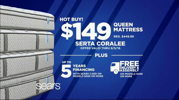 Sears Labor Day Mattress Event TV Spot, 'Sleep Like a Baby: Hot Buy' - Thumbnail 5