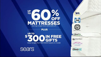 Sears Labor Day Mattress Event TV Spot, 'Sleep Like a Baby: Hot Buy' - Thumbnail 4