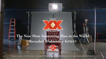 Dos Equis TV Spot, 'ESPN: Most Interesting Man in the World' Ft. Steve Levy - Thumbnail 5