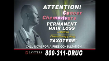 Langdon & Emison Attorneys at Law TV Spot, 'Chemotherapy Hair Loss'