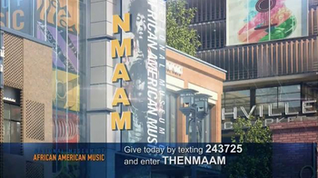 National Museum of African American Music TV Spot, 'Donate to Help' - 8 commercial airings