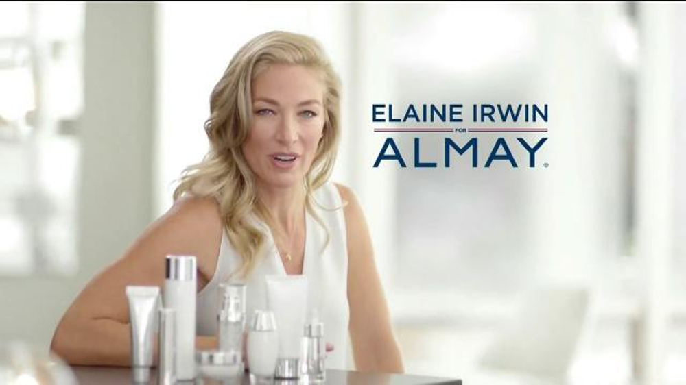 Almay Age Essentials Makeup TV Commercial, 'Multi-Benefit' Featuring Elaine Irwin