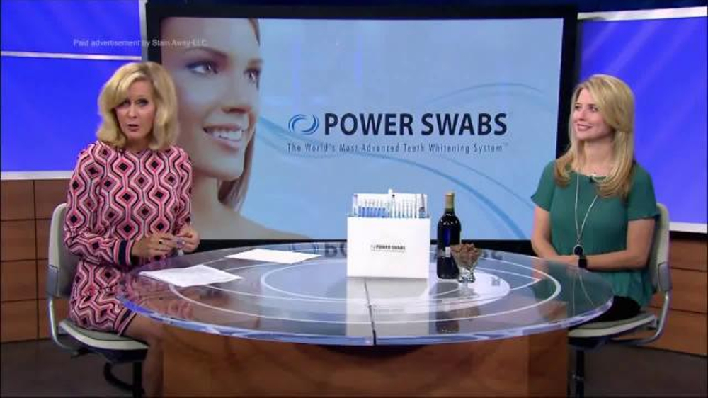 Power Swabs TV Commercial, 'What's Trending: Whiter Smile'