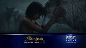 DIRECTV Cinema TV Spot, 'The Jungle Book'