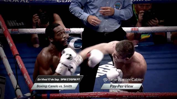 Time Warner Cable On Demand TV Spot, 'Boxing: Canelo vs. Smith' [Spanish] - Thumbnail 3