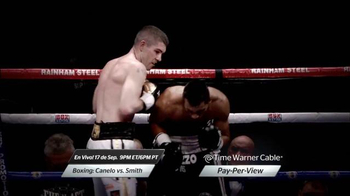 Time Warner Cable On Demand TV Spot, 'Boxing: Canelo vs. Smith' [Spanish] - Thumbnail 4