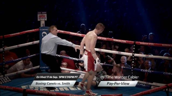 Time Warner Cable On Demand TV Spot, 'Boxing: Canelo vs. Smith' [Spanish] - Thumbnail 5