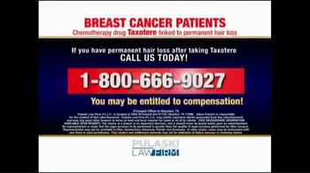 Pulaski Law Firm TV Spot, 'Breast Cancer Patients' - Thumbnail 5
