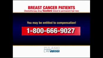 Pulaski Law Firm TV Spot, 'Breast Cancer Patients' - Thumbnail 3