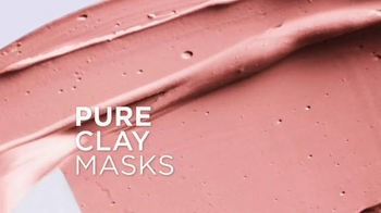 L'Oreal Paris Pure-Clay Masks TV Spot, 'Transform Oily, Dull, Rough Skin' - Thumbnail 6