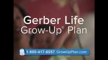 Gerber Life Grow-Up Plan TV Spot, \'Whole Life Insurance for Your Child\'