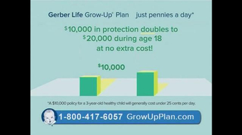Gerber Life Grow-Up Plan TV Spot, 'Whole Life Insurance for Your Child' - Thumbnail 4