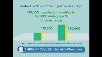 Gerber Life Grow-Up Plan TV Spot, 'Whole Life Insurance for Your Child' - Thumbnail 5