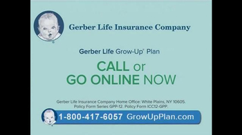 Gerber Life Grow-Up Plan TV Spot, 'Whole Life Insurance for Your Child' - Thumbnail 7