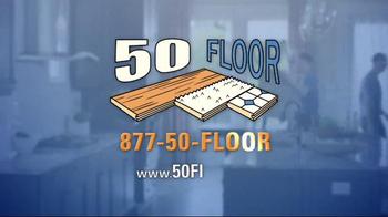 50 Floor Customer Appreciation Month TV Spot, 'Top Notch' Ft. Richard Karn - Thumbnail 5