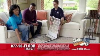 50 Floor Customer Appreciation Month TV Spot, 'Top Notch' Ft. Richard Karn - Thumbnail 1