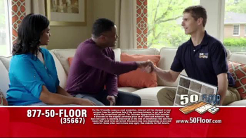 50 Floor Customer Appreciation Month TV Spot, 'Top Notch' Ft. Richard Karn - Thumbnail 2