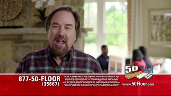 50 Floor Customer Appreciation Month TV Spot, 'Top Notch' Ft. Richard Karn