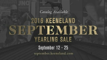 2016 Keeneland September Yearling Sale TV Spot, 'Gold Standard' - 2 commercial airings