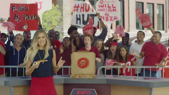 Pizza Hut TV Spot, 'Hungry College Football Fans'