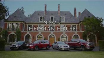Nissan TV Spot, 'Heisman House: Derrick Henry Effect' Feat. Marcus Mariota - Thumbnail 1