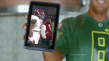 Nissan TV Spot, 'Heisman House: Derrick Henry Effect' Feat. Marcus Mariota - Thumbnail 3