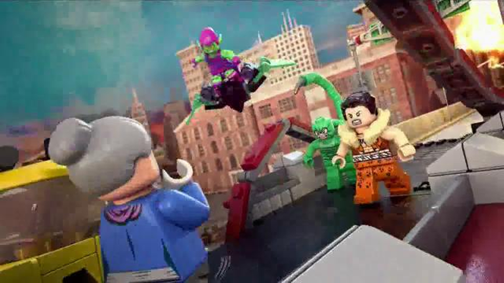 Lego Marvel Super Heroes Tv Commercial Spider Man To The Rescue