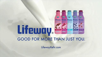 Lifeway Kefir TV Spot, 'Lifeway Works for Carli Lloyd' - 488 commercial airings