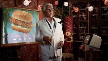 KFC $5 Fill Up: Chicken Littles TV Spot, 'Karaoke' Feat. George Hamilton - Thumbnail 1
