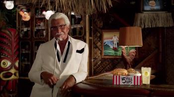 KFC $5 Fill Up: Chicken Littles TV Spot, 'Karaoke' Feat. George Hamilton - Thumbnail 9