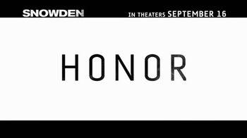 Snowden - Alternate Trailer 11