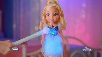 Disney Princess Magical Wand Cinderella TV Spot, 'Make Magic' - 664 commercial airings