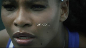 Nike TV Spot, 'Unlimited Greatness' Featuring Serena Williams - Thumbnail 10