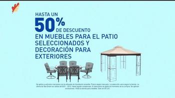 Lowe's Ofertas de Labor Day TV Spot, 'Patio y jardín' [Spanish] - Thumbnail 2