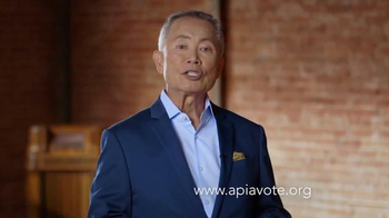 APIA Vote TV Spot, 'Voice Your Vote' Featuring John Cho, George Takei - Thumbnail 1