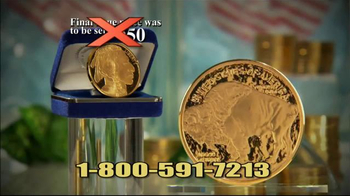 National Collector's Mint 2016 Gold Buffalo Tribute Proof TV Spot, 'Dollar' - Thumbnail 6