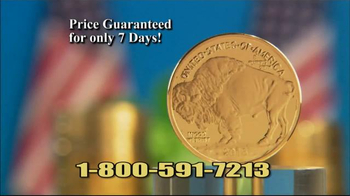 National Collector's Mint 2016 Gold Buffalo Tribute Proof TV Spot, 'Dollar' - Thumbnail 7